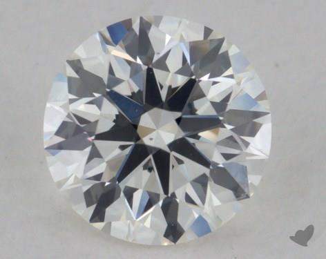 0.57 Carat G-VS1 True Hearts<sup>TM</sup> Ideal Diamond