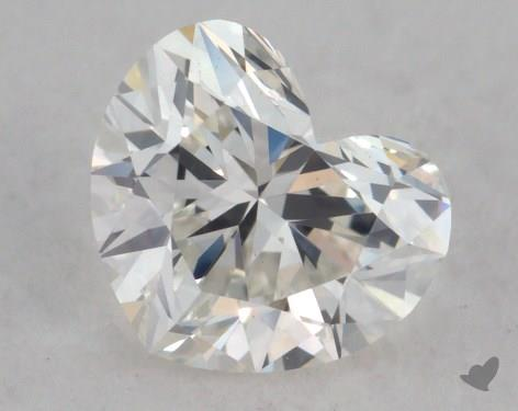 0.78 Carat H-VS2 Heart Shaped  Diamond