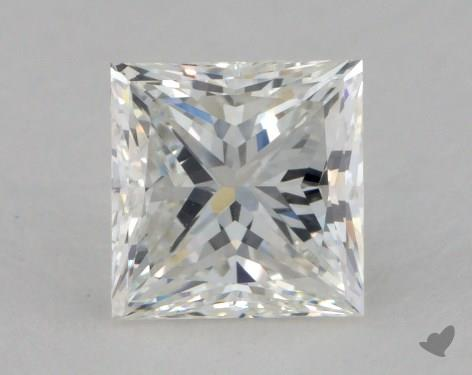 1.36 Carat F-VS1 Ideal Cut Princess Diamond