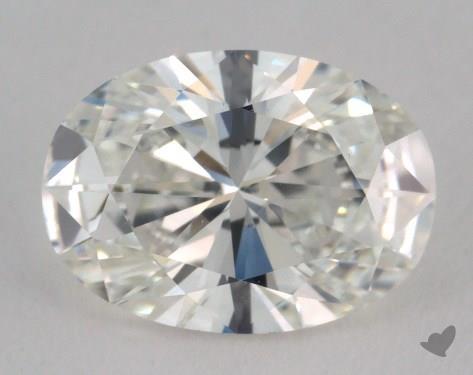 1.50 Carat H-VS1 Oval Cut Diamond