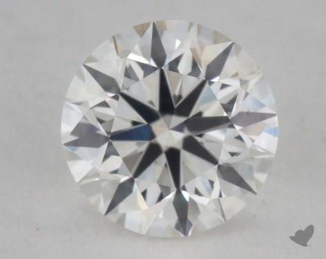 0.57 Carat H-VS2 Excellent Cut Round Diamond