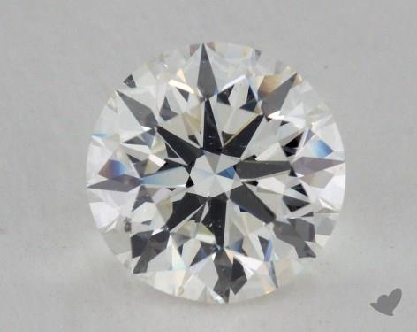 3.01 Carat H-SI1 Excellent Cut Round Diamond