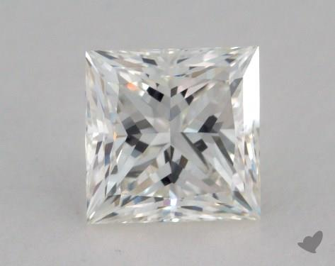 0.81 Carat I-IF Princess Cut  Diamond