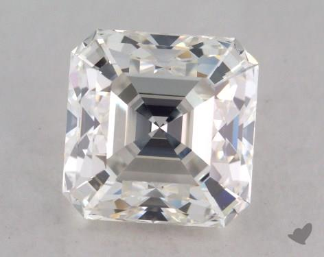 3.02 Carat H-VS2 Asscher Cut Diamond