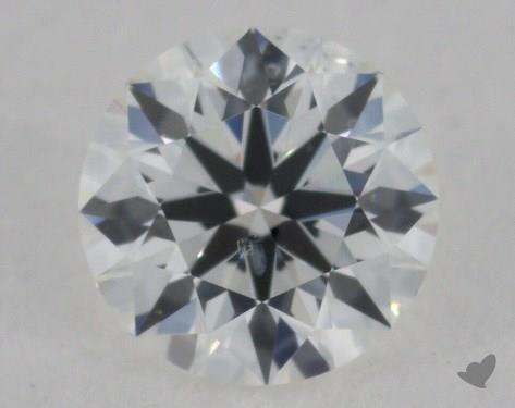 0.31 Carat G-SI2 Excellent Cut Round Diamond
