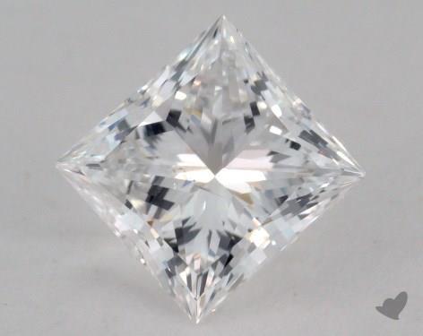1.00 Carat E-SI2 Ideal Cut Princess Diamond