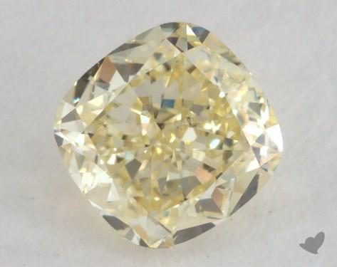 0.50 Carat  yellow-VS2 Cushion Cut Diamond