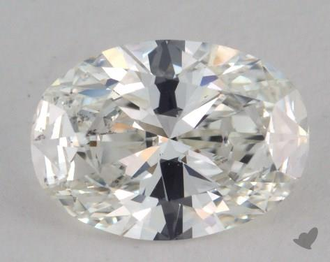 1.51 Carat H-VS2 Oval Cut  Diamond