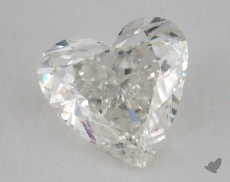 2.02 Carat H-SI2 Heart Shape Diamond