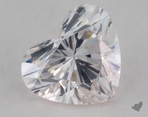 1.07 Carat H-SI1 Heart Shaped  Diamond