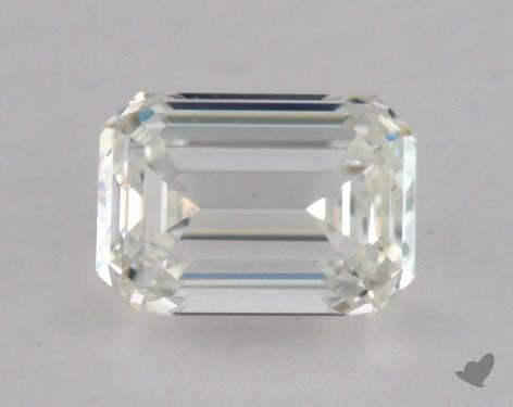 0.80 Carat H-VS2 Emerald Cut  Diamond