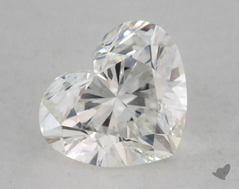 1.51 Carat H-SI1 Heart Shaped  Diamond