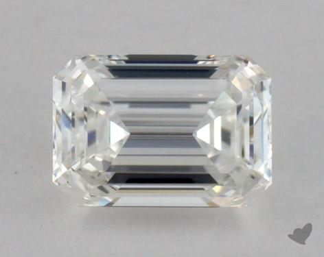 0.82 Carat G-IF Emerald Cut Diamond