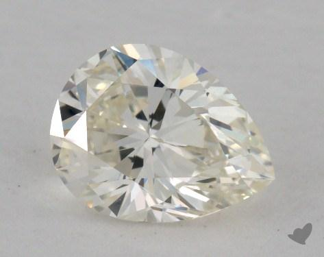 1.12 Carat K-IF Pear Shaped  Diamond