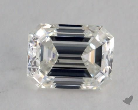 0.90 Carat H-SI1 Emerald Cut Diamond