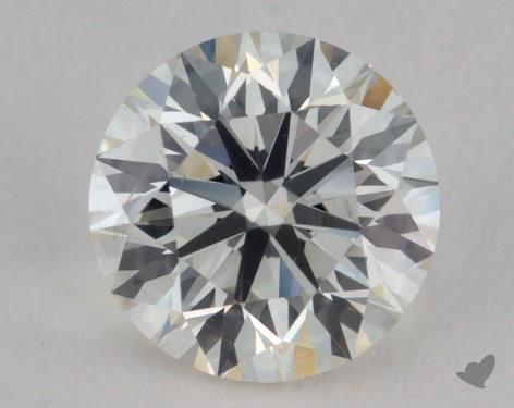 0.90 Carat J-VS2 Very Good Cut Round Diamond