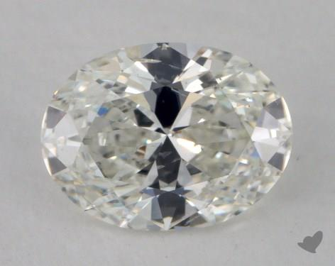 1.02 Carat H-SI2 Oval Cut  Diamond