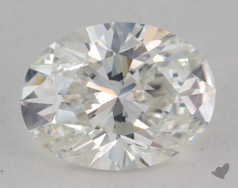 1.70 Carat H-VVS2 Oval Cut  Diamond
