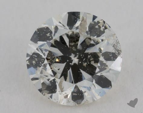 1.00 Carat K-I1 Good Cut Round Diamond
