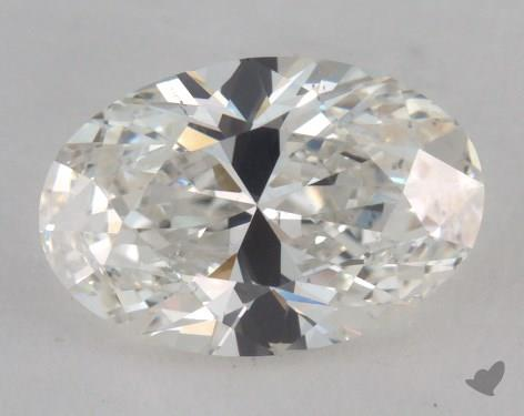 1.51 Carat H-SI1 Oval Cut Diamond