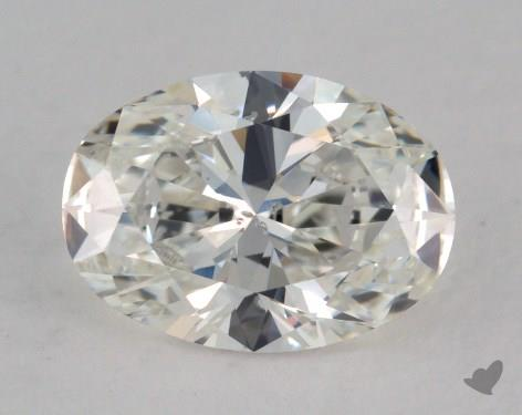 1.23 Carat H-SI2 Oval Cut Diamond