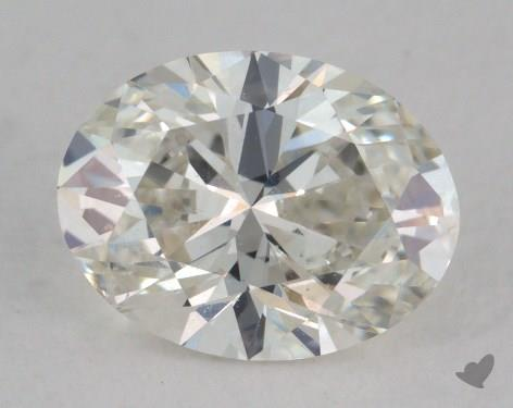 1.07 Carat H-SI1 Oval Cut Diamond