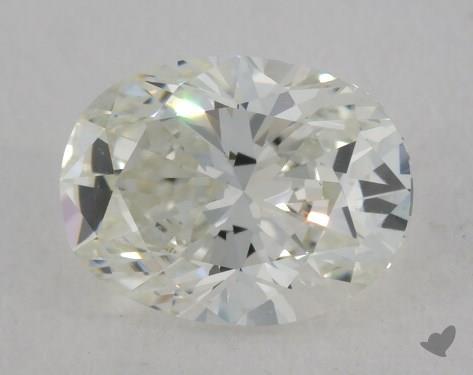 1.00 Carat H-VS2 Oval Cut Diamond