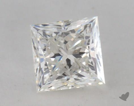 0.75 Carat H-VS1 Very Good Cut Princess Diamond