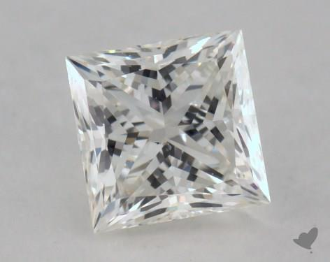 0.80 Carat G-SI1 Princess Cut  Diamond