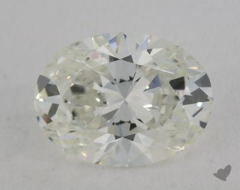 1.70 Carat H-VVS1 Oval Cut Diamond