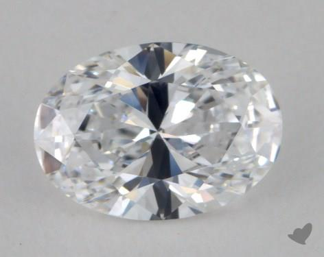 0.77 Carat E-VVS1 Oval Cut Diamond