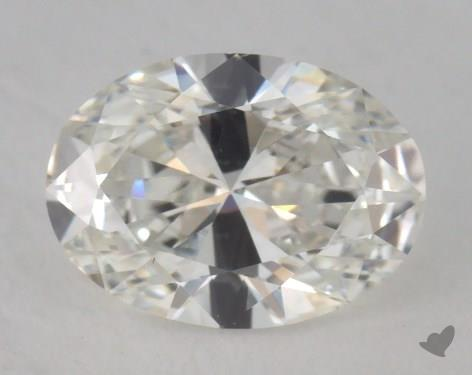 0.65 Carat H-VS2 Oval Cut  Diamond