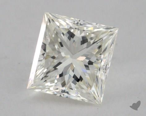 1.31 Carat I-VS1 Excellent Cut Princess Diamond