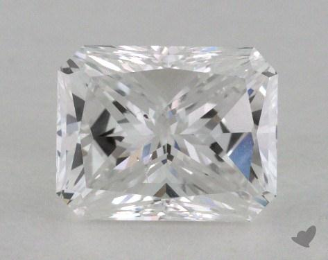 0.96 Carat D-SI1 Radiant Cut  Diamond
