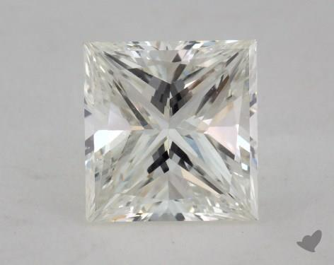 1.71 Carat I-VS2 Very Good Cut Princess Diamond