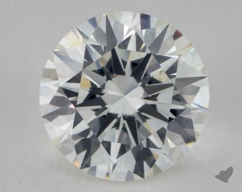 2.64 Carat H-VS1 Excellent Cut Round Diamond