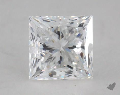 0.90 Carat E-VVS1 Princess Cut  Diamond