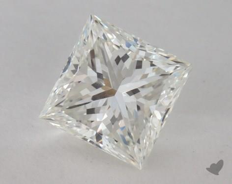 2.03 Carat H-VVS2 Ideal Cut Princess Diamond