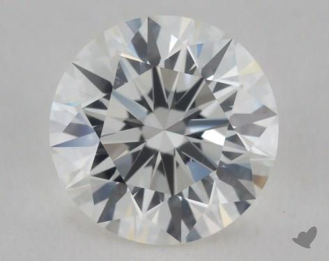 1.07 Carat H-VS2 Ideal Cut Round Diamond