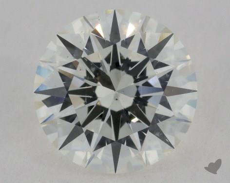 2.47 Carat I-SI1 Excellent Cut Round Diamond