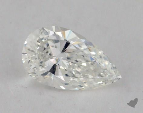0.85 Carat H-VS2 Pear Shape Diamond
