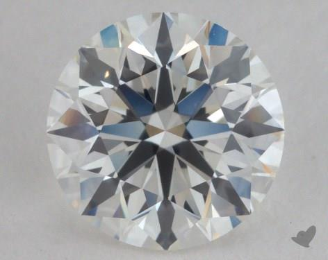1.51 Carat H-SI1 Very Good Cut Round Diamond
