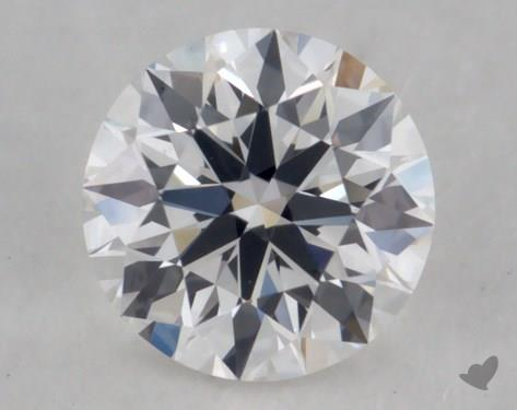 0.31 Carat E-VS2 True Hearts<sup>TM</sup> Ideal Diamond