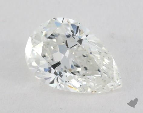 1.12 Carat G-SI1 Pear Shape Diamond