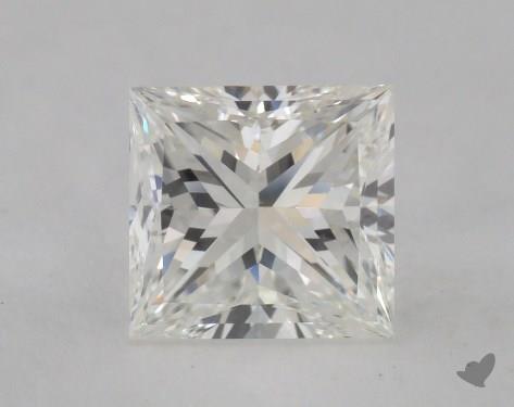 1.61 Carat H-SI1 Ideal Cut Princess Diamond