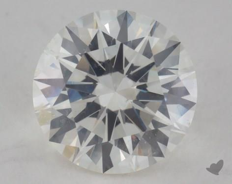 2.50 Carat J-SI2 Excellent Cut Round Diamond