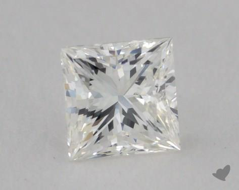 0.60 Carat H-VS2 Very Good Cut Princess Diamond