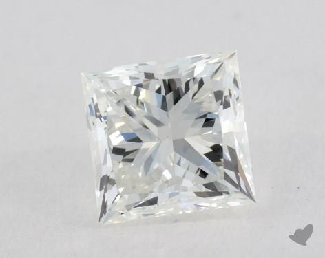 0.84 Carat G-VS2 Very Good Cut Princess Diamond