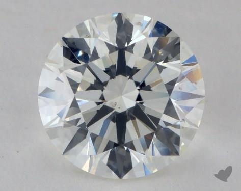 3.01 Carat I-SI1 Excellent Cut Round Diamond