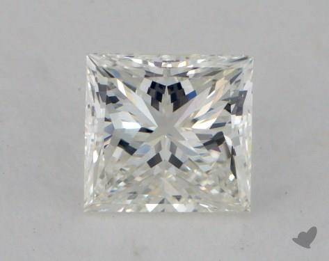 0.70 Carat H-VS2 Very Good Cut Princess Diamond